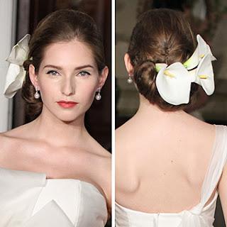 Hochzeit Frisuren langes Haar