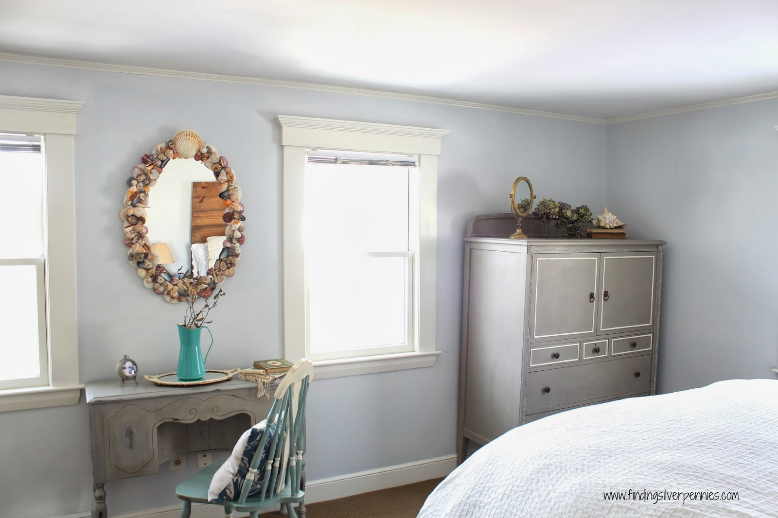 Paint For Bedroom Furniture A Chalk Paint Review The Clifton Armoire Finding Silver Pennies
