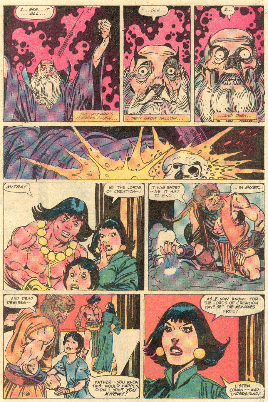 Conan the Barbarian (1970) Issue #130 #142 - English 20