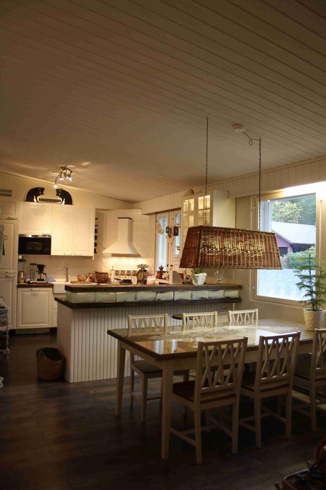 LUMIVALKOISTA Uusi keittiö ja pussukkaostoksia