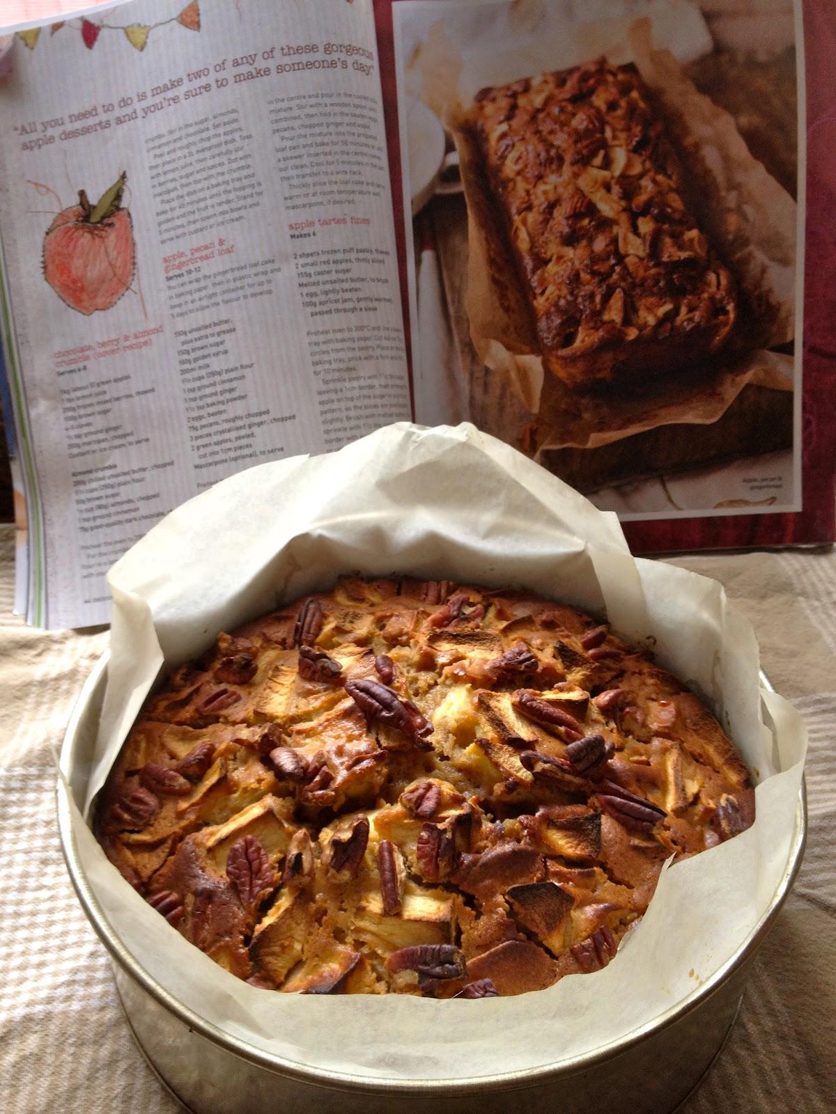 Vegie Mix: Apple, Pecan and Gingerbread Cake