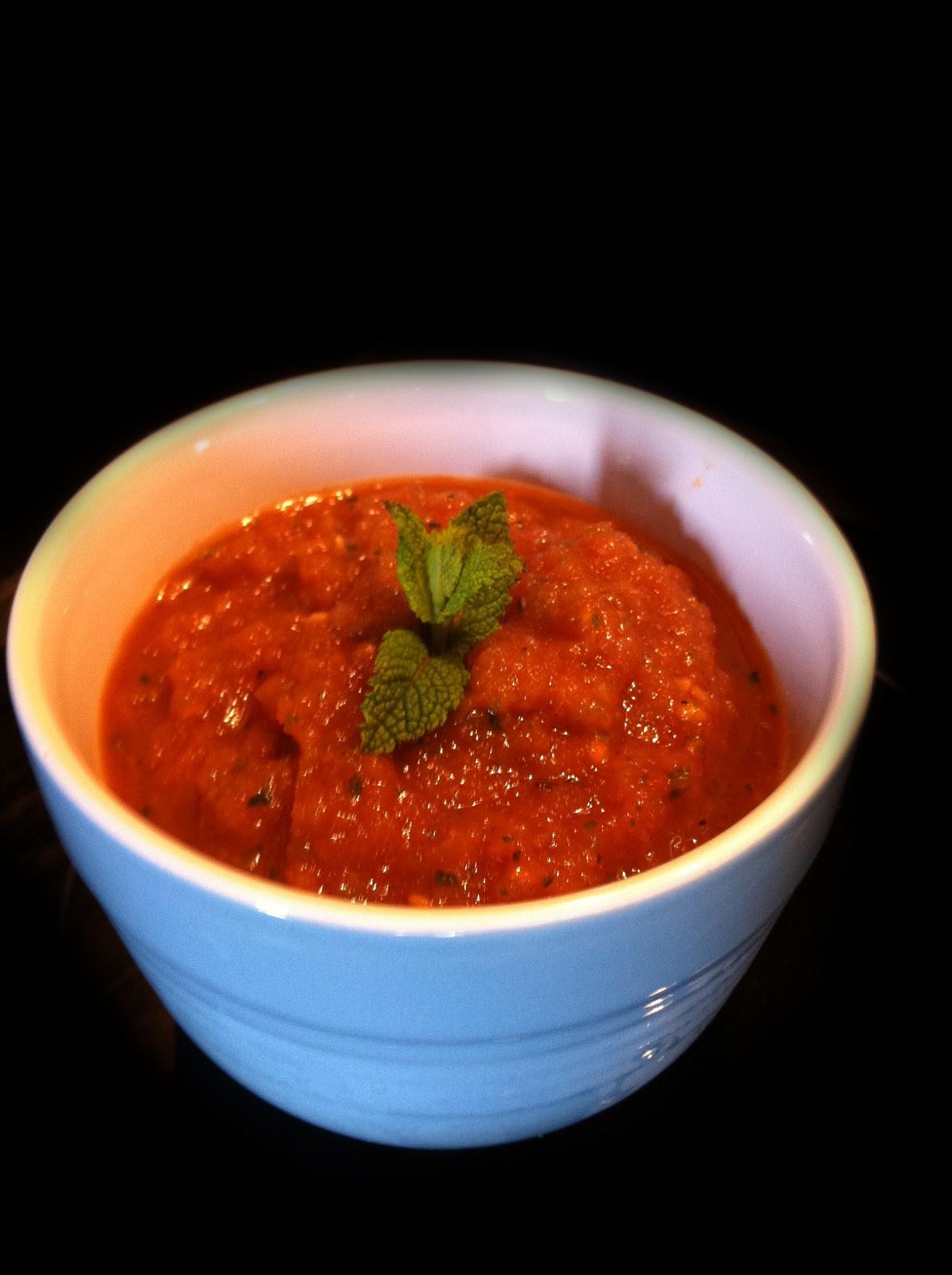Fresh spicy gazpacho caramba blogs de cuisine - Cuisine legere et dietetique ...
