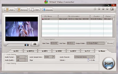 WinX Video Converter gratis para windows