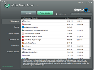 IObit Uninstaller 2: Uninstall and Remove Unwanted Programs and Folders from Your Computer Fast and Easily
