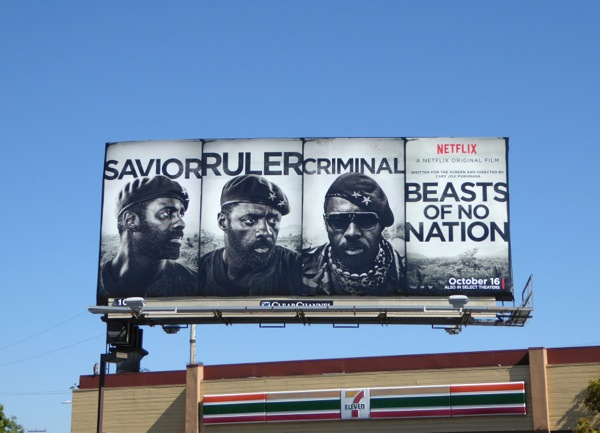 Beasts of no Nation film billboard
