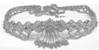 Sterling Silver Body Jewellery Belly Chain Waist Jewelry