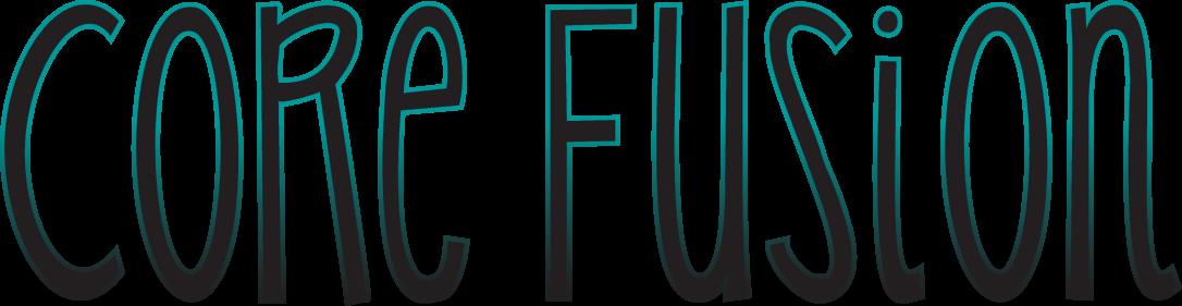Core Fusion fitness class logo by Sarah Pecorino for The Zoo Health Club NH