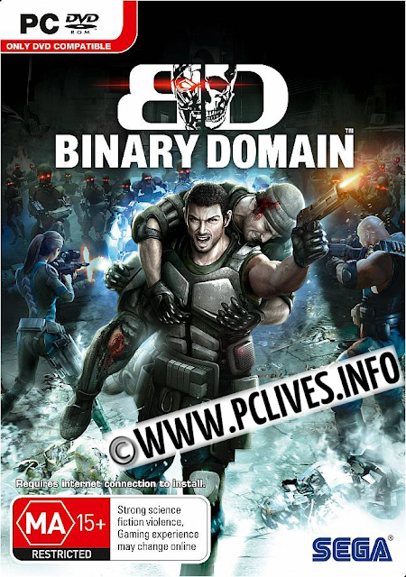 Binary Domain pc game cover download