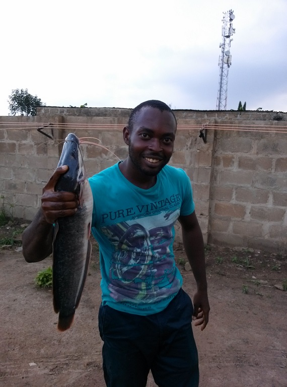 Fish Farmer in Nigeria
