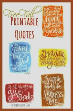 Free Fall Printable Quotes