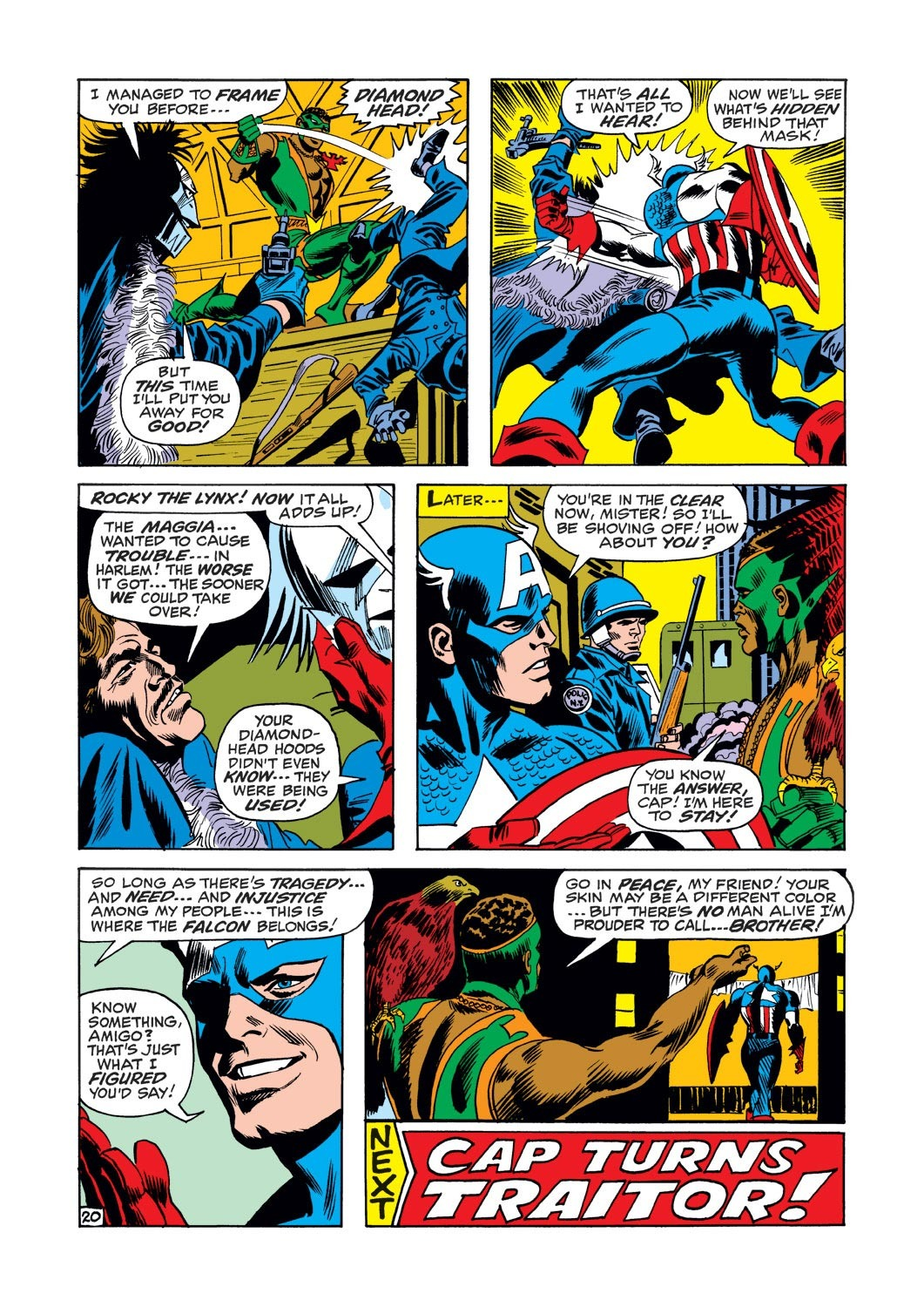 Captain America (1968) Issue #126 #40 - English 20