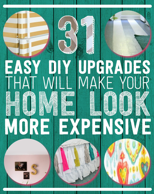 Diy all things 31 easy diy upgrades that will make your for Easy diys to do at home