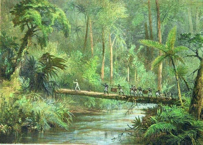 Head hunters of Borneo