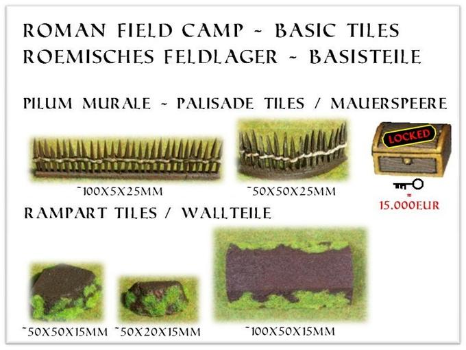 Tabletop Fix: Falkenwelt Modellbau - Modular Roman Field Camp ...