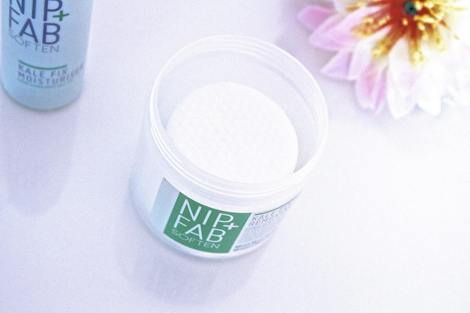 NIP + FAB Kale Fix makeup remover pads