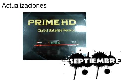 Nueva actualización Superbox Prime HD. Fecha 04/09/2013