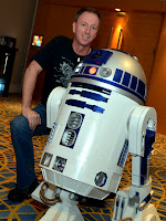 Travis S. Taylor with R2-D2