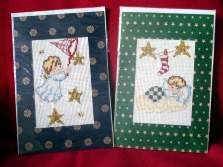 Ideas de tarjetas de navidad hechas a mano lindos - Hacer postales navidad ...
