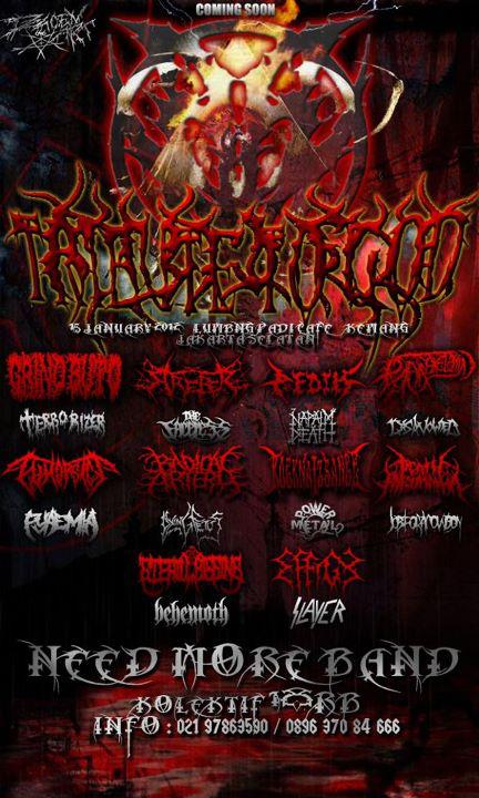 TRIBUTE TO GOD (show our influence) 15 january 2012 Kemang- jaksel
