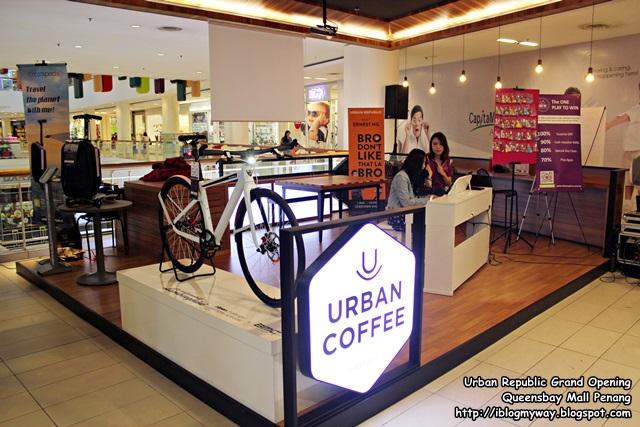 Urban Republic Grand Opening, Queensbay Mall Penang