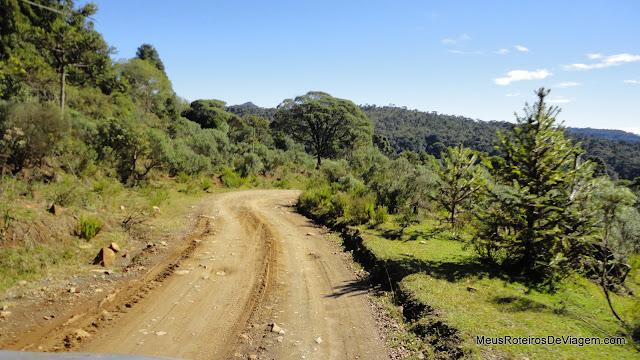 Estrada de acesso à Cascata do Avencal - Urubici / SC