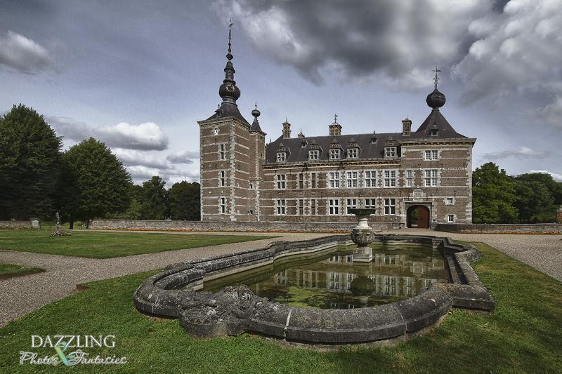 voorkant van kasteel Eijsden