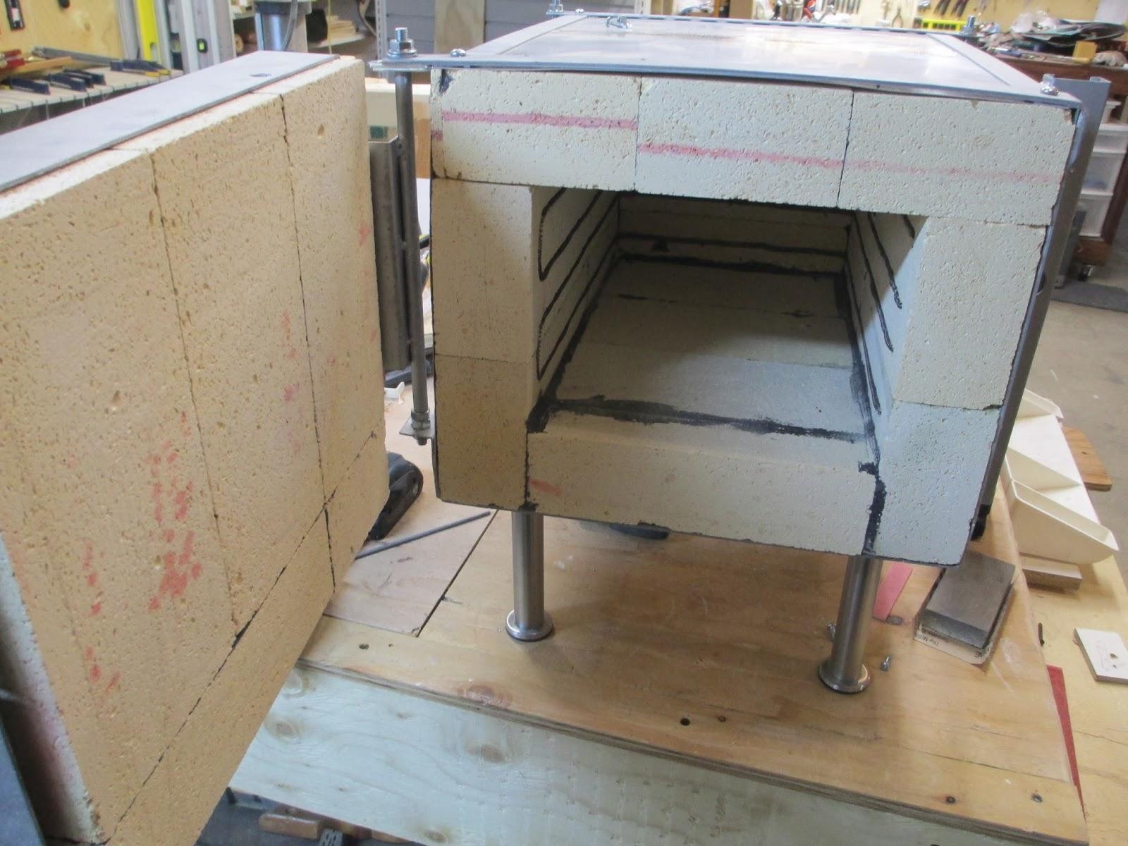 Knife Forging Ovens : Diy knifemaker s info center heat treatment oven project