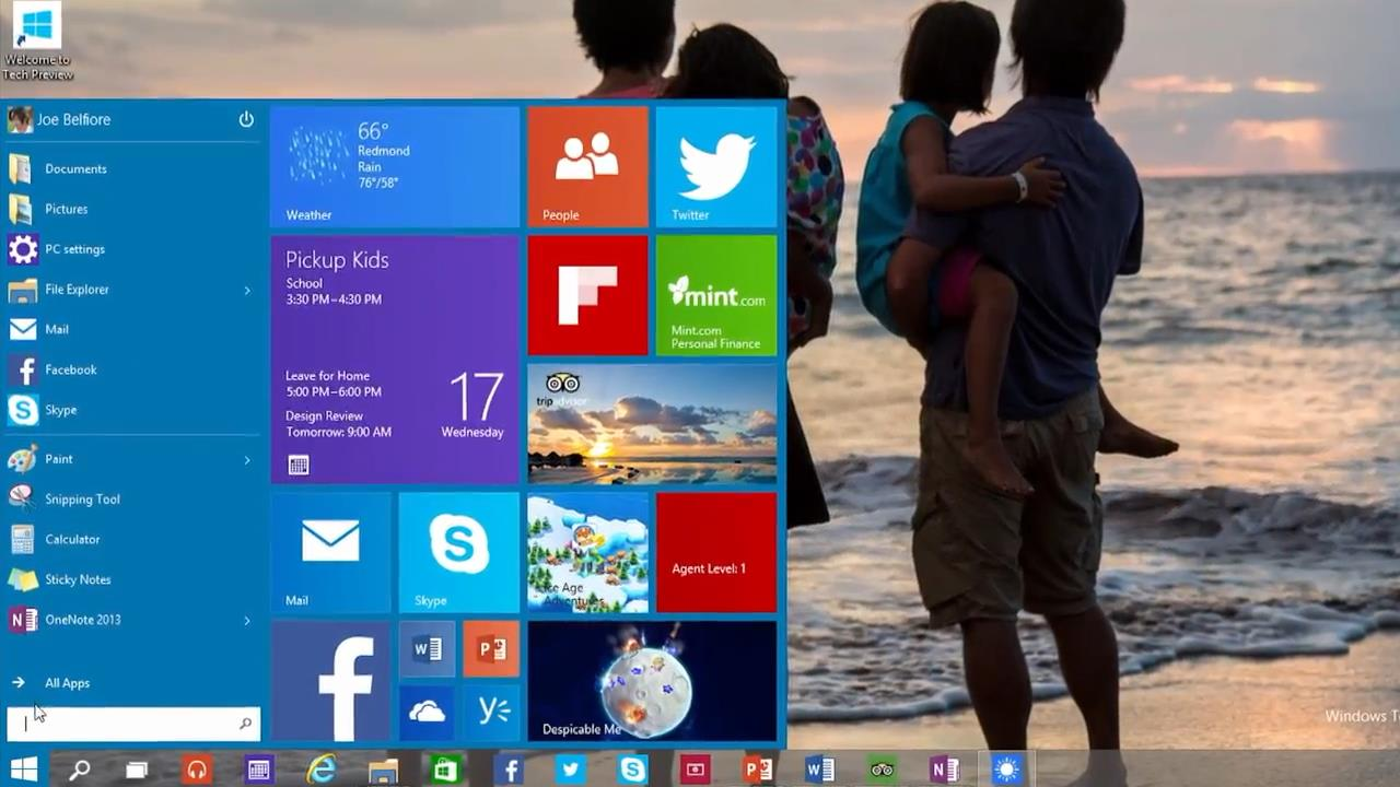 Integrating both Windows 7 and 8 Start Menu into one