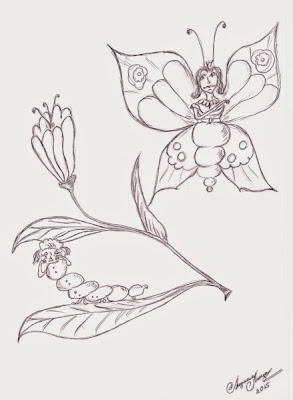 L'eruga i la papallona (Liudmila Liutsko)