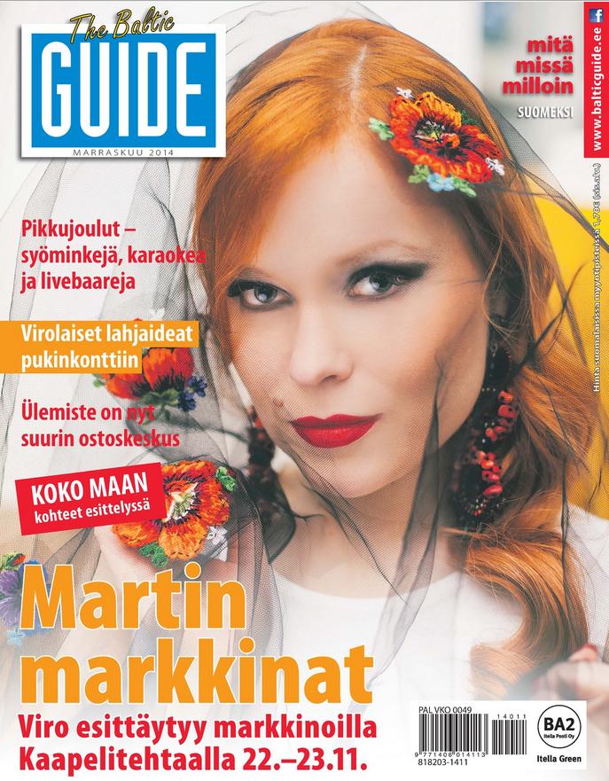 Baltic Guide, Martin markkinat, Lukupaketti, Tallinnaan, Viroon
