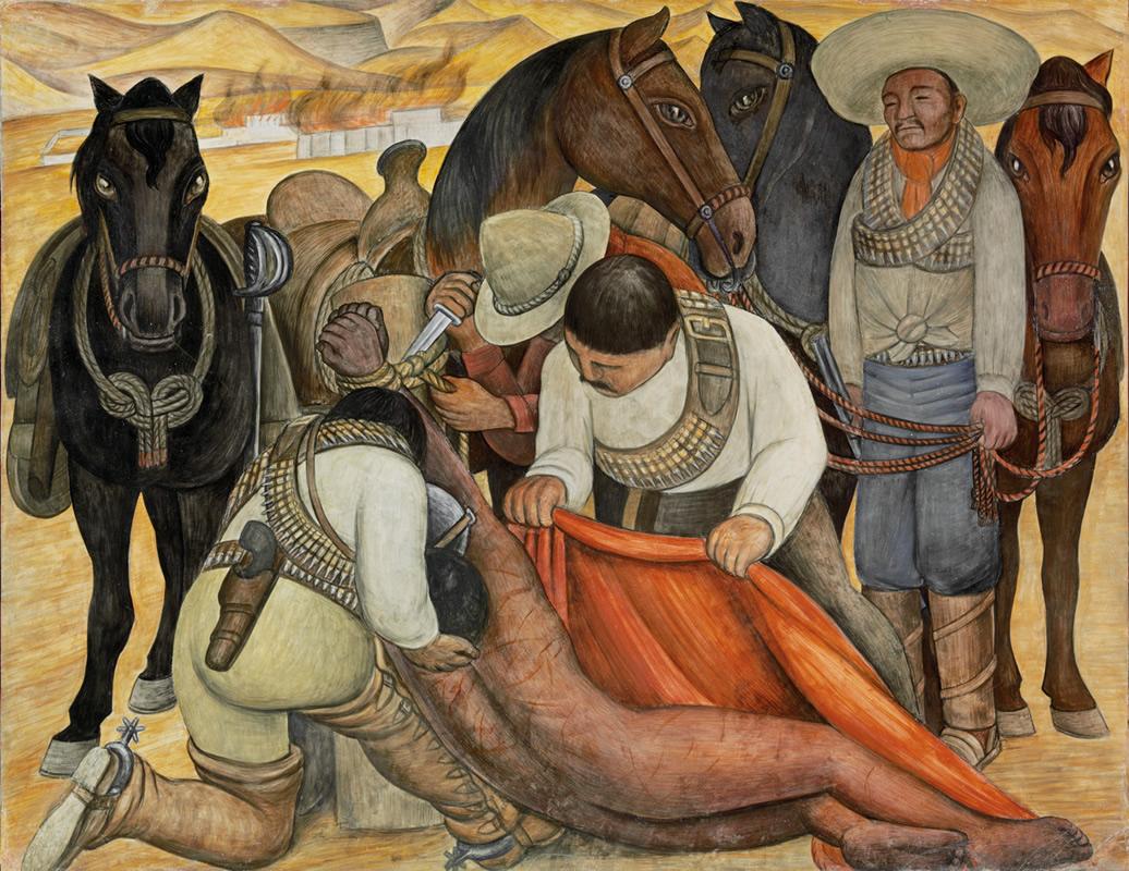 Ester mora diego rivera for Mural de rivera