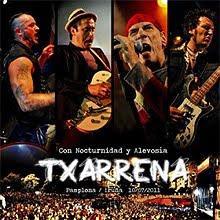A la venta el CD y DVD de Txarrena Con Nocturnidad y Alevosía