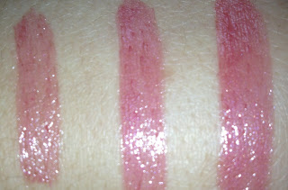 loreal colour caresse wet shine stain rose on and on