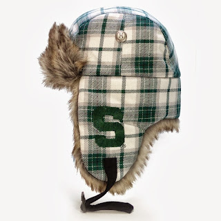 Michigan State Spartans Winter Trapper Hat