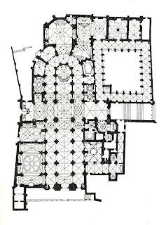 Catedral de Burgos. Iglesias por el mundo. Planta de la Catedral