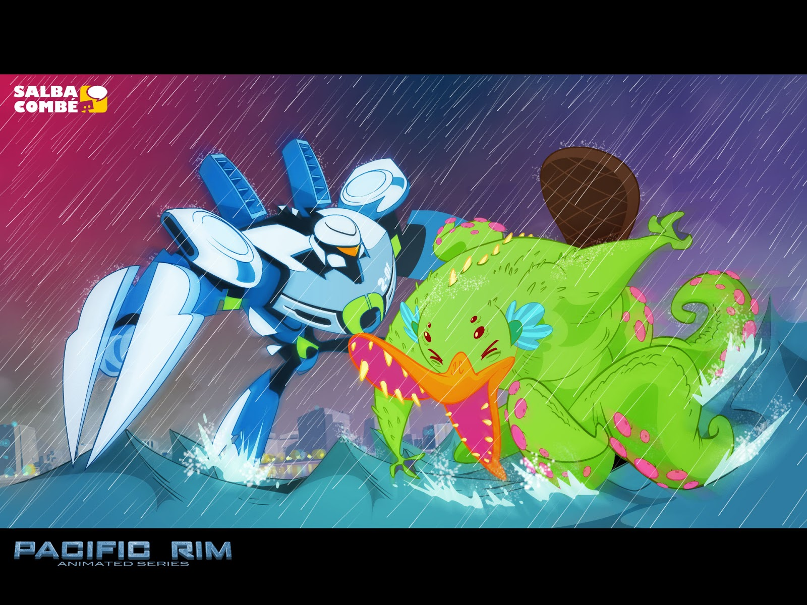JAEGERS VS. KAIJU: PACIFIC RIM - THE ANIMATED SERIES Pacific Rim
