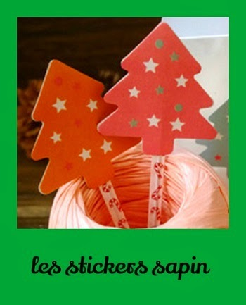 Stickers sapin Noel