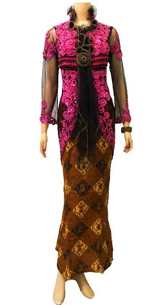 baju kebaya modern Trend Model Kebaya Modern Terbaru 2013