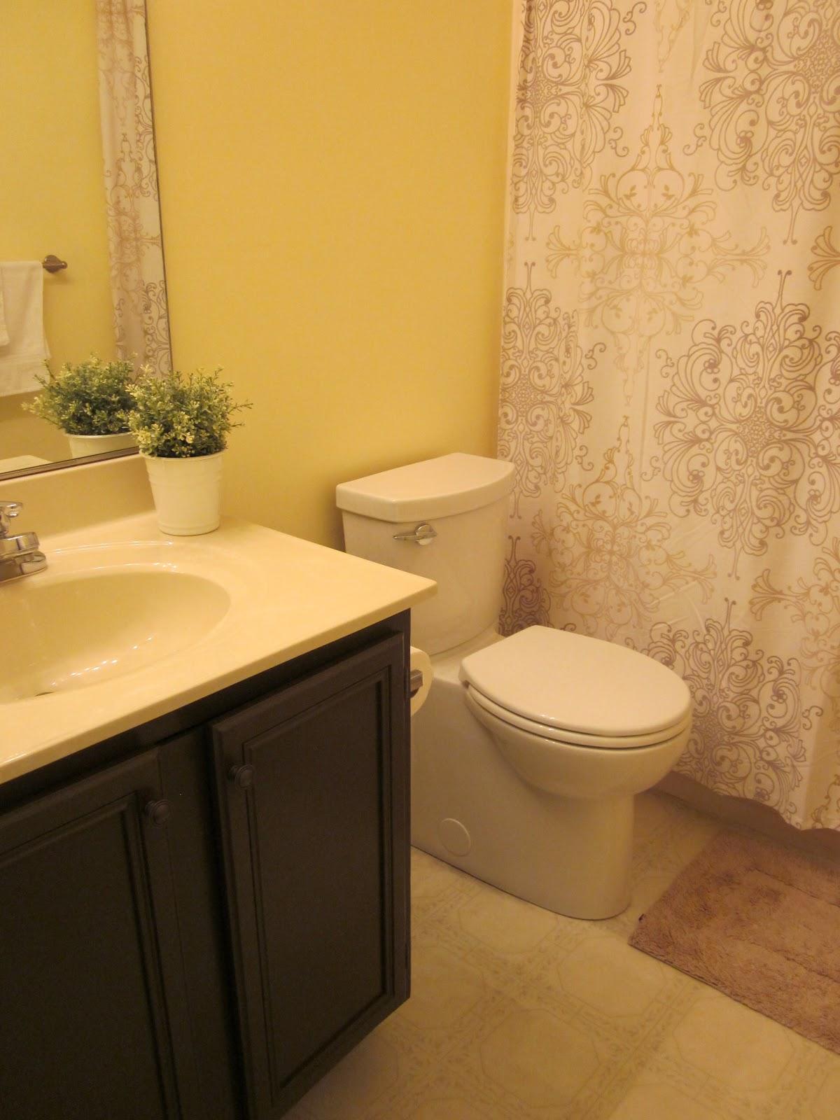 Bathroom Vanities You Put Together coffee, caramel & cream: how to paint your bathroom vanity