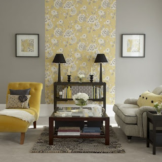 Wall   Living Room on Yellow Designs  This Living Room Is What I Envision For The Future