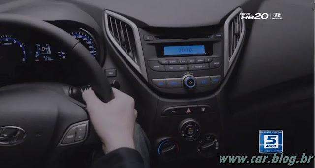 Hyundai HB 20 - painel