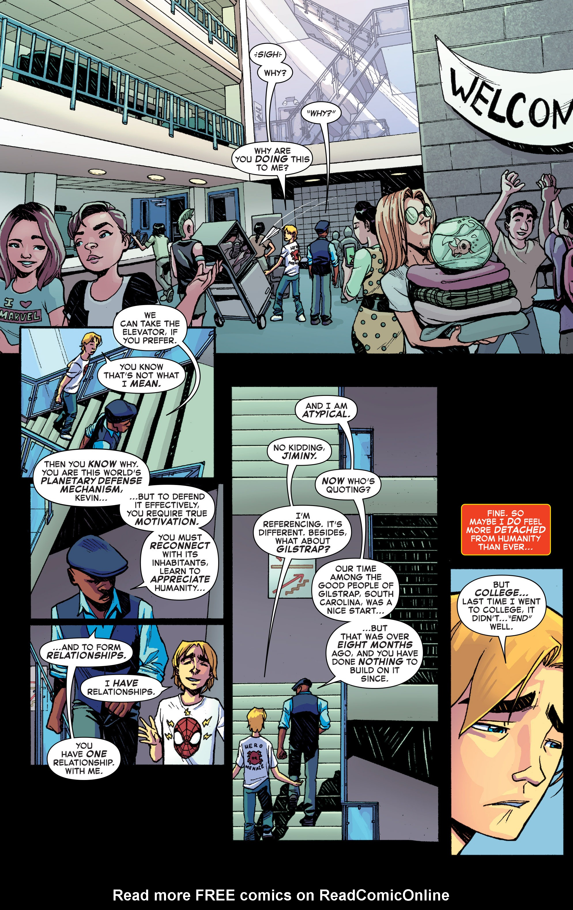 Read online Starbrand & Nightmask comic -  Issue #1 - 10