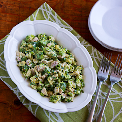 Kalyn's Kitchen®: Chicken and Avocado Salad with Lime and Cilantro