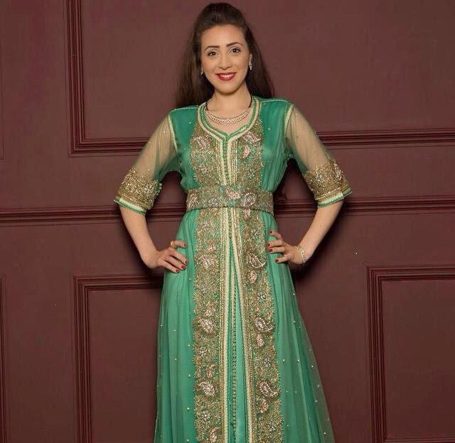 Caftan marocain 2015 pour soir e mariage f tes caftan for Robes de mariage en consignation ct