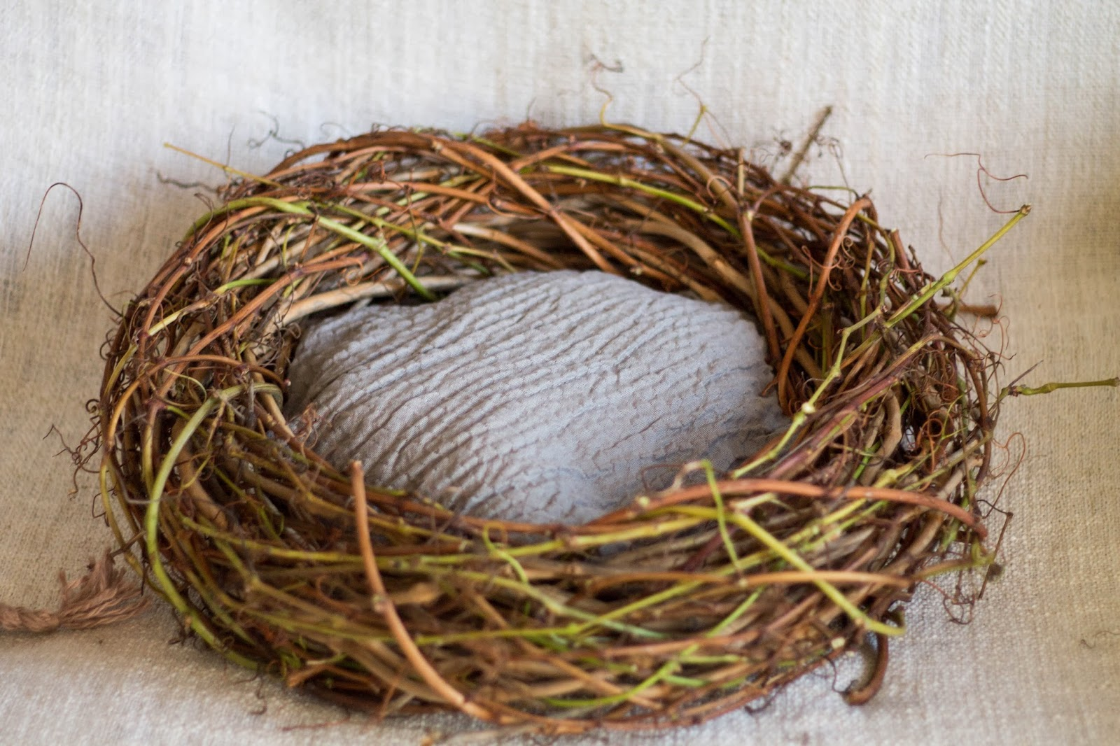 Как сделать птичьего гнезда 642
