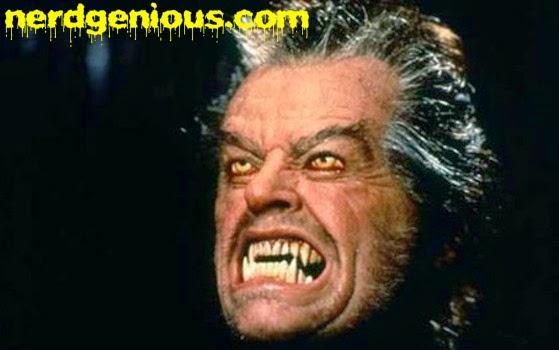 Jack Nicholson Wolf transformation