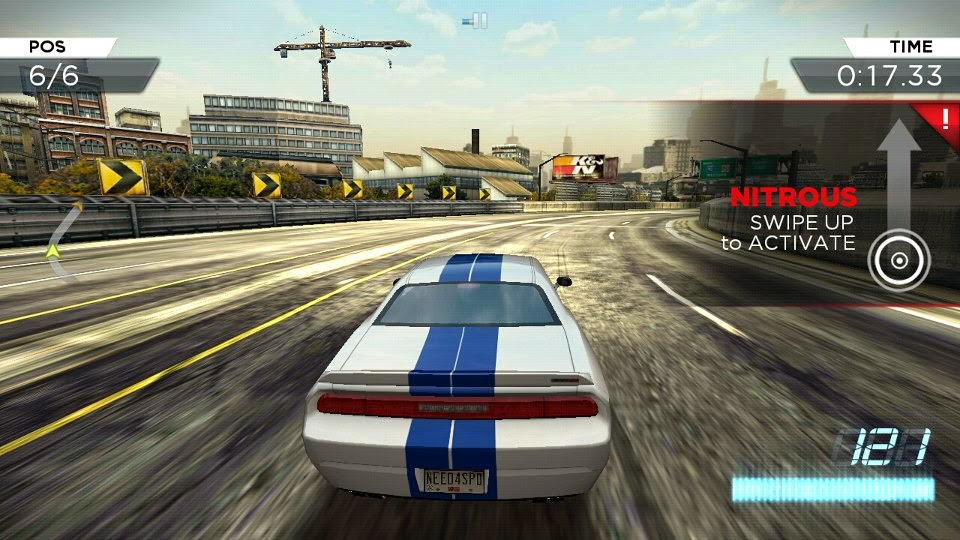 Need For Speed Most Wanted Android Обзор