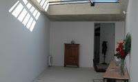 Patio intérieur dans maison à louer au centre de Gordes