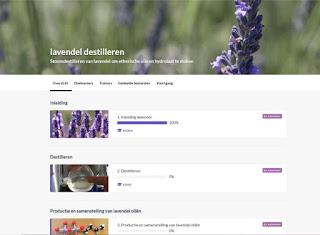 Online cursus lavendel destilleren