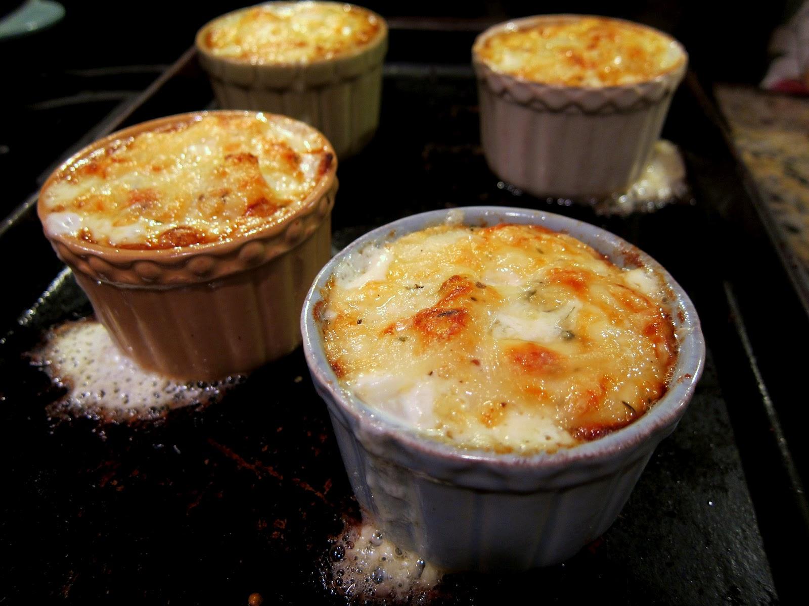 Simple Potato Gratin Recipe — Dishmaps